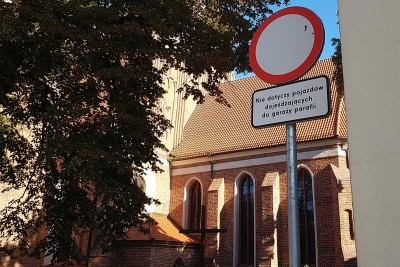 zakaz ruchu Katedra Bydgoszcz