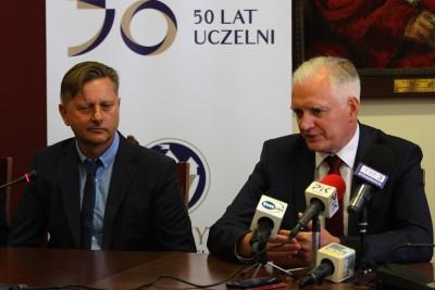 prof. Jacek Woźny, Jarosław Gowin - SF