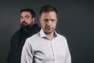 Warszawa, .15.05.2019, n/z Tomasz i Marek Sekielscy fot. Maksymilian Rigamonti