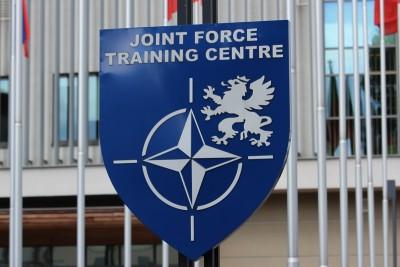 szyld, logotyp - Centrum Szkolenia Sił Połączonych_ Joint Force Training Centre  JFTC - Bydgoszcz - SF