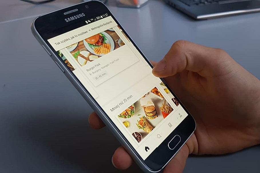 uber eats, aplikacja
