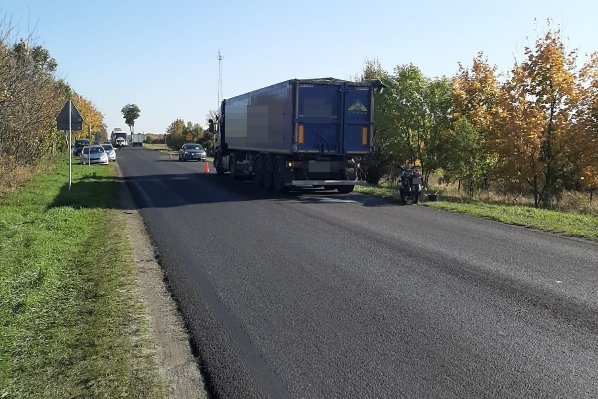 14-10-2019_ wypadek DK10 Mrozowo - KPP Nakło (2)