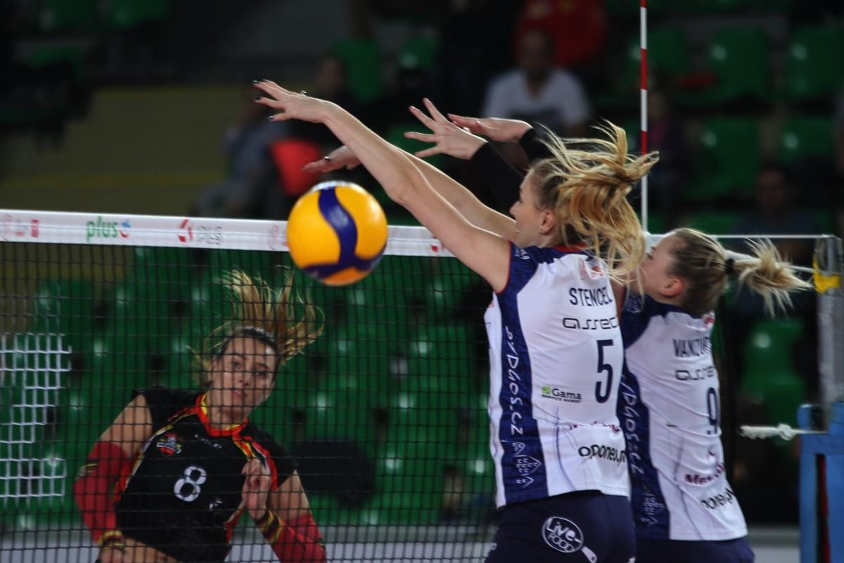 19-10-2019_ Liga Siatkówki Kobiet Bank Pocztowy Pałac Bydgoszcz - Wisła Warszawa_ SF