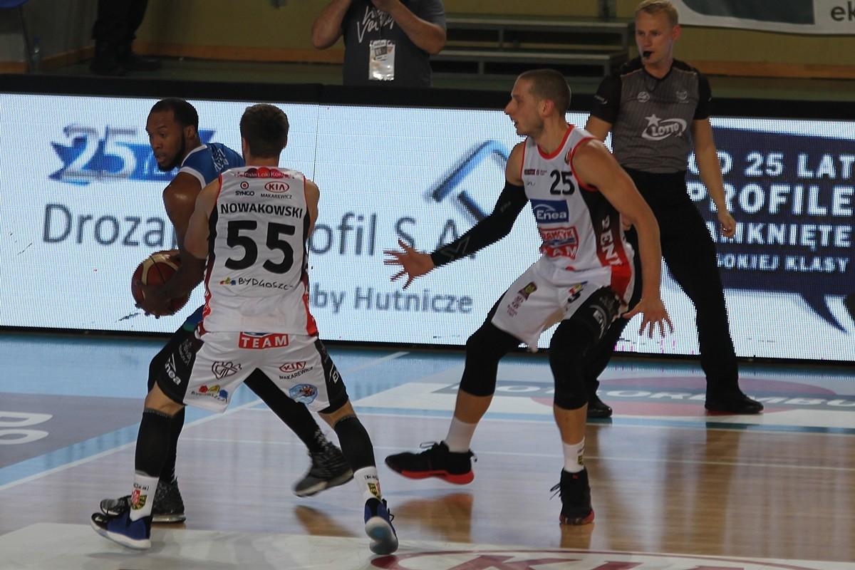 20-10-2019_ Energa Basket Liga - Immobile Łuczniczka_ Enea Astoria Bydgoszcz - Anwil Włocławek - Marcin Nowakowski, Michał Nowakowski, Chris Dowe - SF