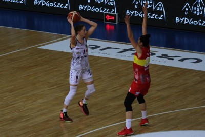 20-10-2019_ Energa Basket Liga Kobiet, Artego Arena_ Artego Bydgoszcz - Ślęza Wrocław - Karolina Poboży - JS