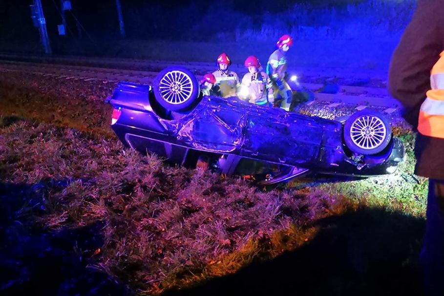 20-10-2019_ wypadek Powstańców Wielkopolskich Janikowo - OSP Janikowo