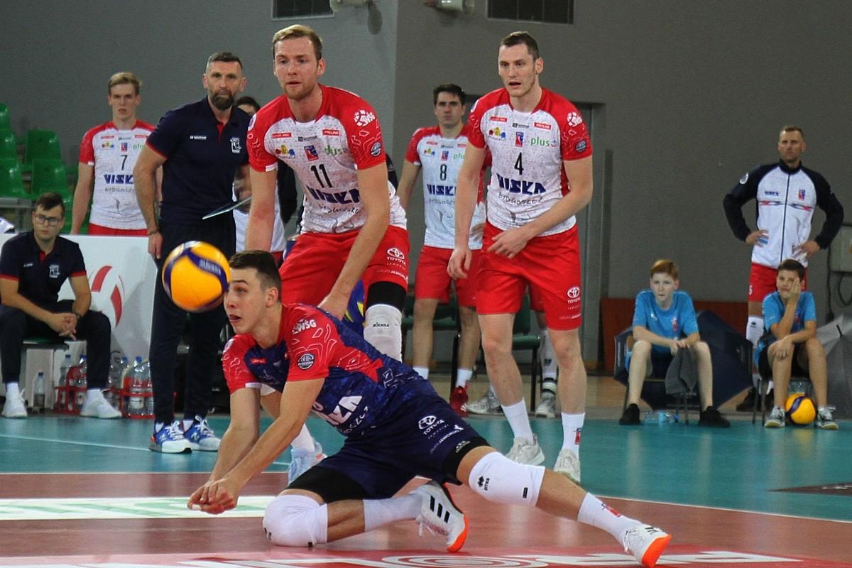 26-10-2019_ siatkówka PlusLiga BKS Visła Bydgoszcz - Jastrzębski Węgiel_ Kamil Szymura - SF