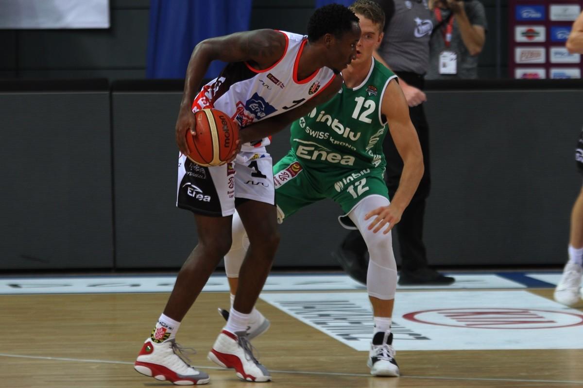 27-10-2019_ koszykówka, Energa Basket Liga_ Enea Astoria Bydgoszcz - Stelmet Enea BC Zielona Góra_ Kris Clyburn, Marcel Ponitka - SF