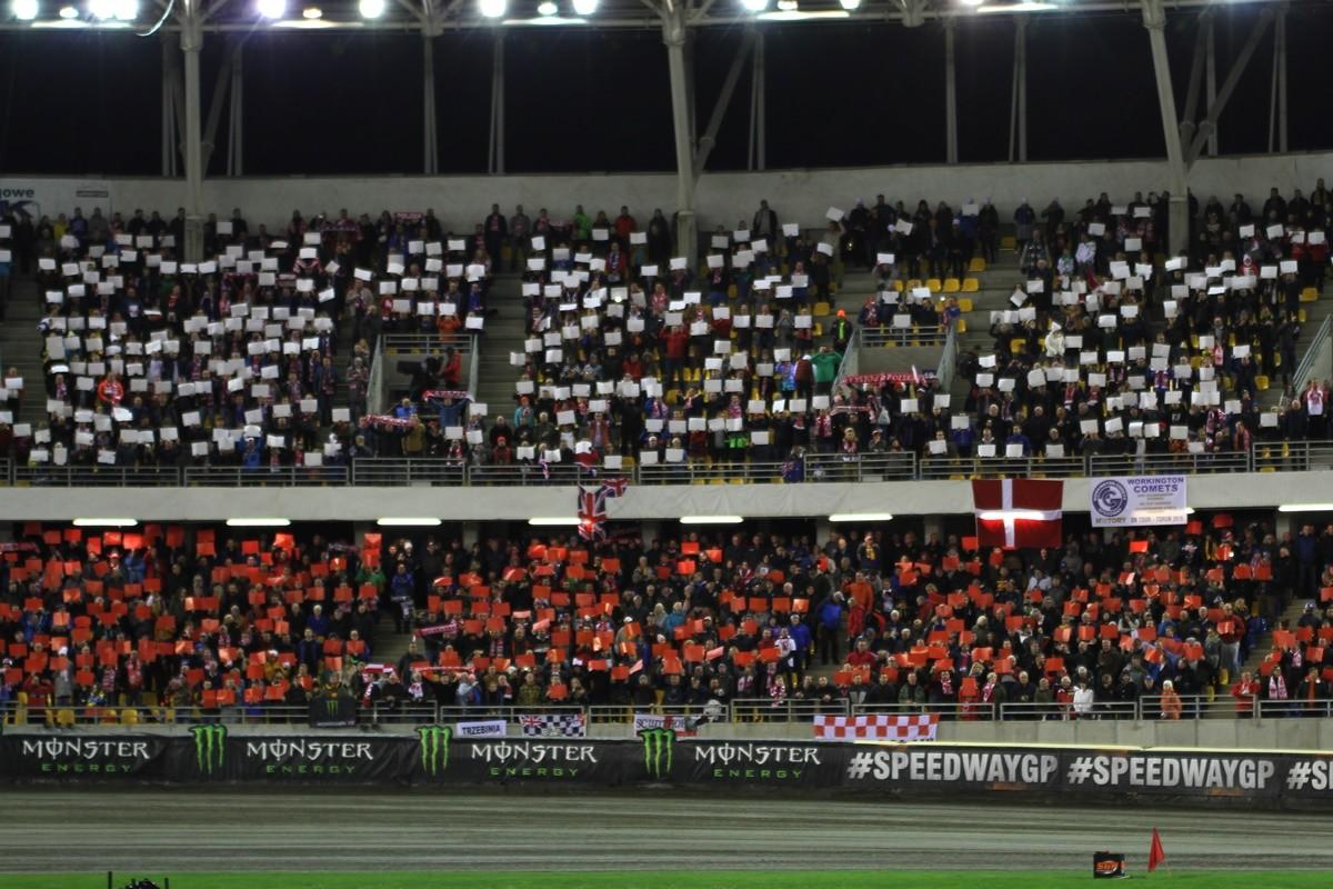 5-10-2019_ FIM Revline Grand Prix Polski na żużlu - Toruń - trybuny MotoArena - SF