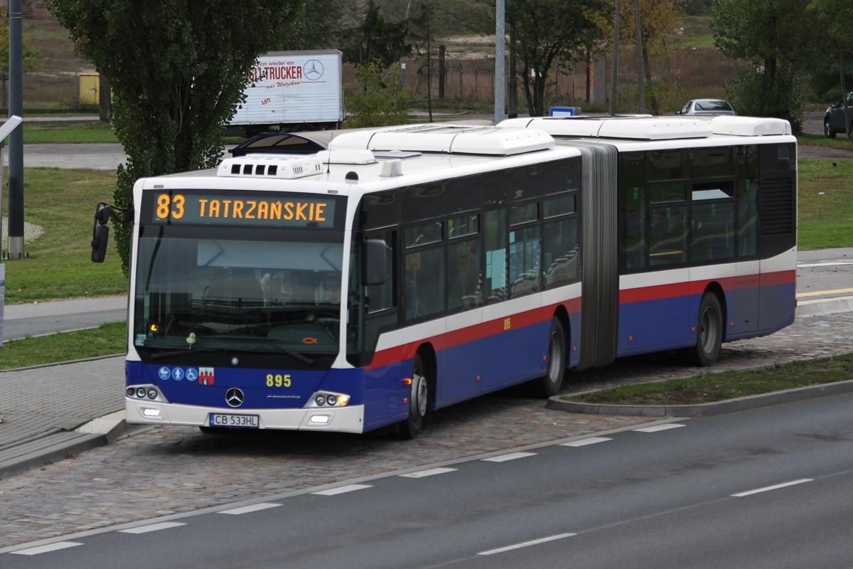 Autobus - linia 83, kierunek Tatrzańskie - SF