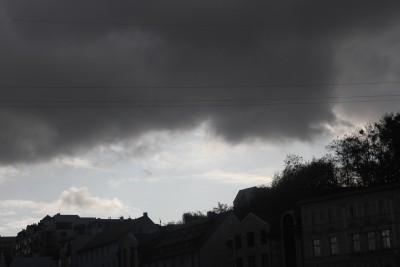 Bydgoszcz - pogoda, chmury, deszcz, burza - SF