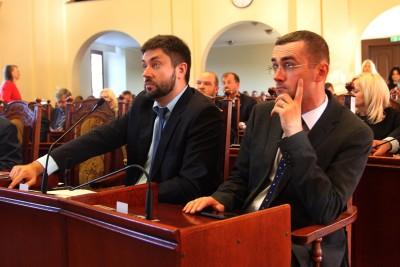 Rada Miasta Bydgoszcz - radni PiS Jarosław Wenderlich, Szymon Róg - SF