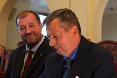 Rada Miasta Bydgoszcz_ radni PiS - Bogdan Dzakanowski, Jerzy Mickuś - SF