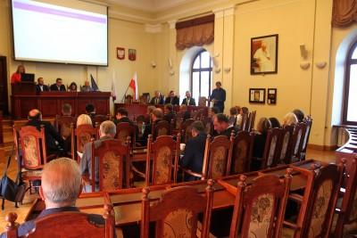 Sala sesyjna - Rada Miasta Bydgoszcz - SF-1