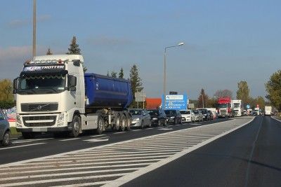 osielsko - korek - droga - traffic - SF