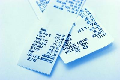 paragon, rachunek, zakupy - freeimages