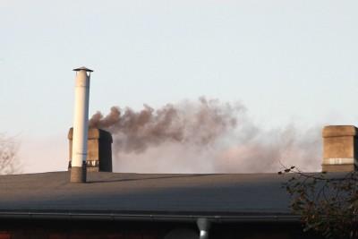smog, komin, dym - SF