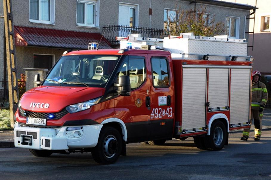 straż pożarna - na sygnale - MR-1
