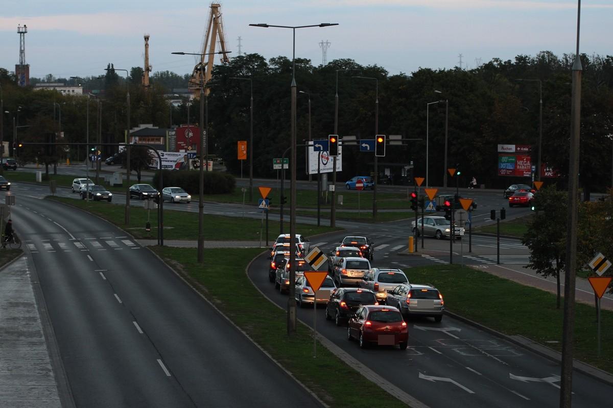 traffic - Fordońska-Kamienna - SF