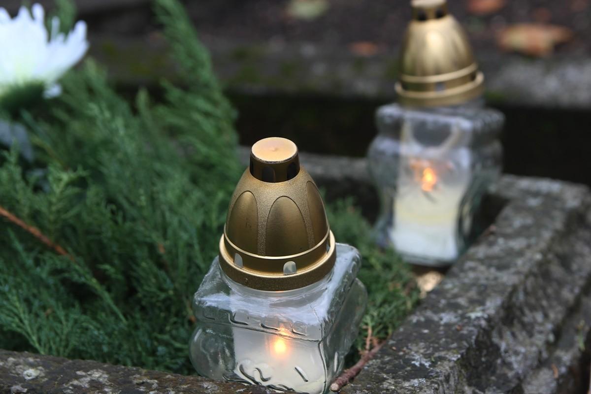 znicz, Wszystkich Świętych, cmentarz - SF
