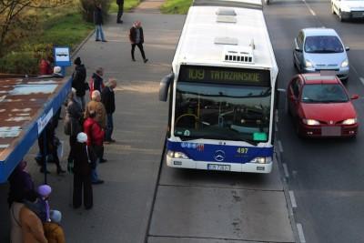 1-11-2019_ Fordońska-Wiślana, autobus - linia specjalna 109 - Tatrzańskie - JS