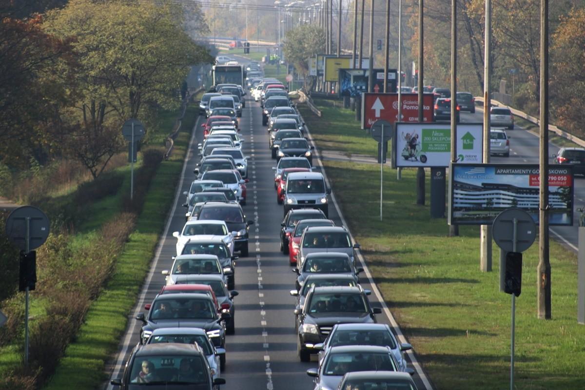 1-11-2019_ korek Fordońska-Wiślana_ traffic - JS