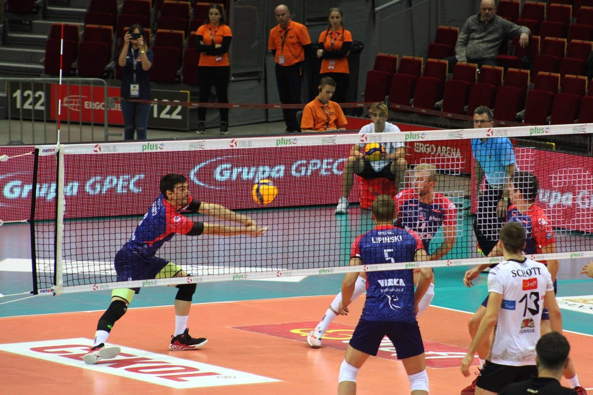 27-11-2019_ siatkówka, PlusLiga_ Trefl Gdańsk - BKS Visła Bydgoszcz_ Gonzalo Quiroga -  SF