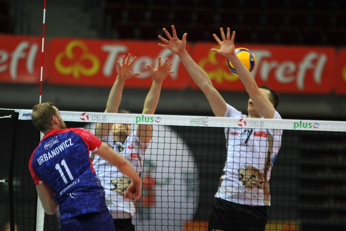 27-11-2019_ siatkówka, PlusLiga_ Trefl Gdańsk - BKS Visła Bydgoszcz_ Jakub Urbanowicz - SF