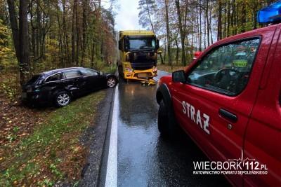 4-11-2019_ wypadek DK25 Niechorz - nadesłane