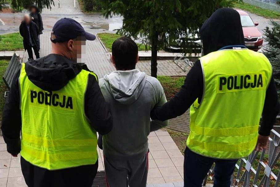5-11-2019_ zatrzymany, napad na Szwederowie - KWP Bydgoszcz-1