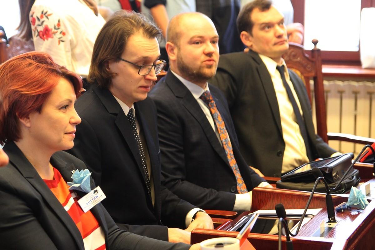 Rada Miasta Bydgoszcz_ radni Joanna Czerska-Thomas, Wojciech Bulanda, Paweł Bokiej, Marcin Lewandowski - SF