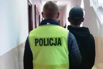 policja, zatrzymany - kpp swiecie