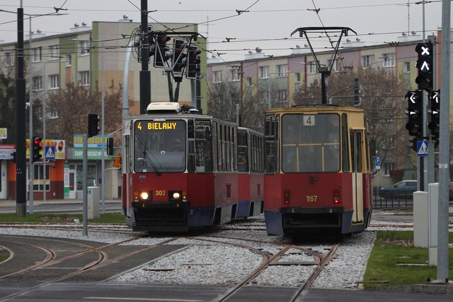 12-12-2019_ tramwaje, Górny Taras Miasta_ linia 4-kierunek Glinki-Bielawy - SF