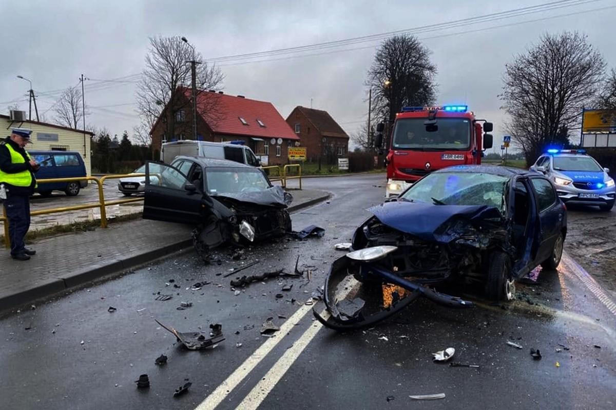 21-12-2019_ wypadek DK15 Gorczenica_ KPP Brodnica