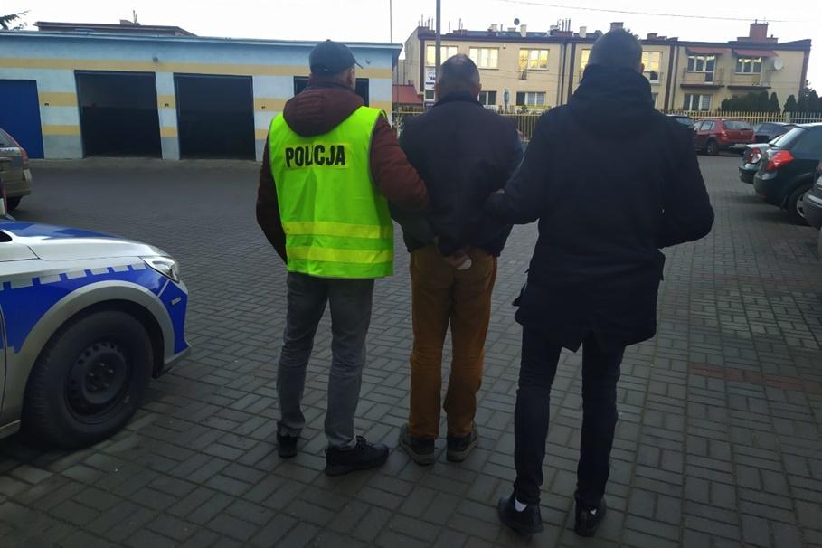 21-12-2019_ zatrzymany, kradzież_ KPP Golub-Dobrzyń