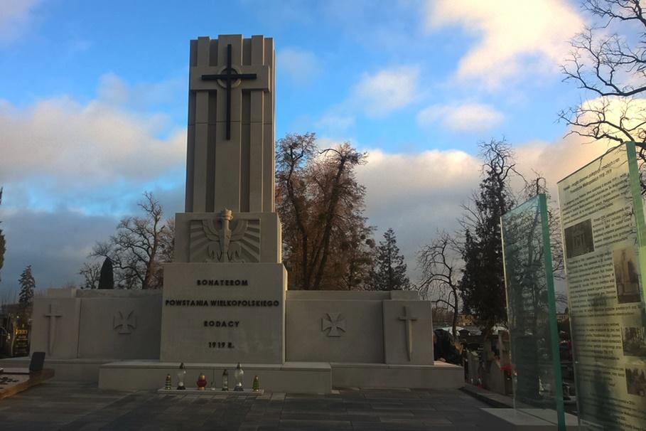 24-12-2019_ odnowiony pomnik Powstańców Wielkopolskich_ cmentarz Szubin - SF (6)