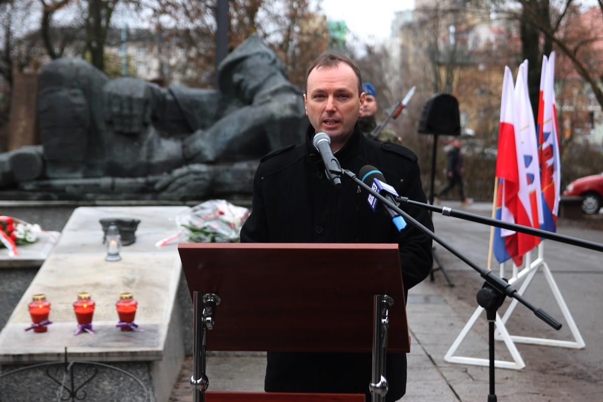 27-12-2019_ 101 rocznica wybuchu Powstania Wielkopolskiego_ uroczystości Bydgoszcz - Sławomir Łaniecki - SF (4)