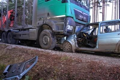 9-12-2019_ wypadek Wielkie Gacno (powiat tucholski)_KPP Tuchola-1