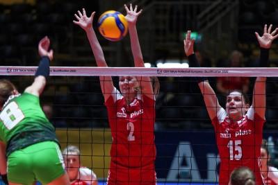 10-01-2020_siatkówka_kwalifikacje olimpijskie-Omnisport Apeldoorn_ Polska-Azerbejdżan_Anna Stencel - cev.eu