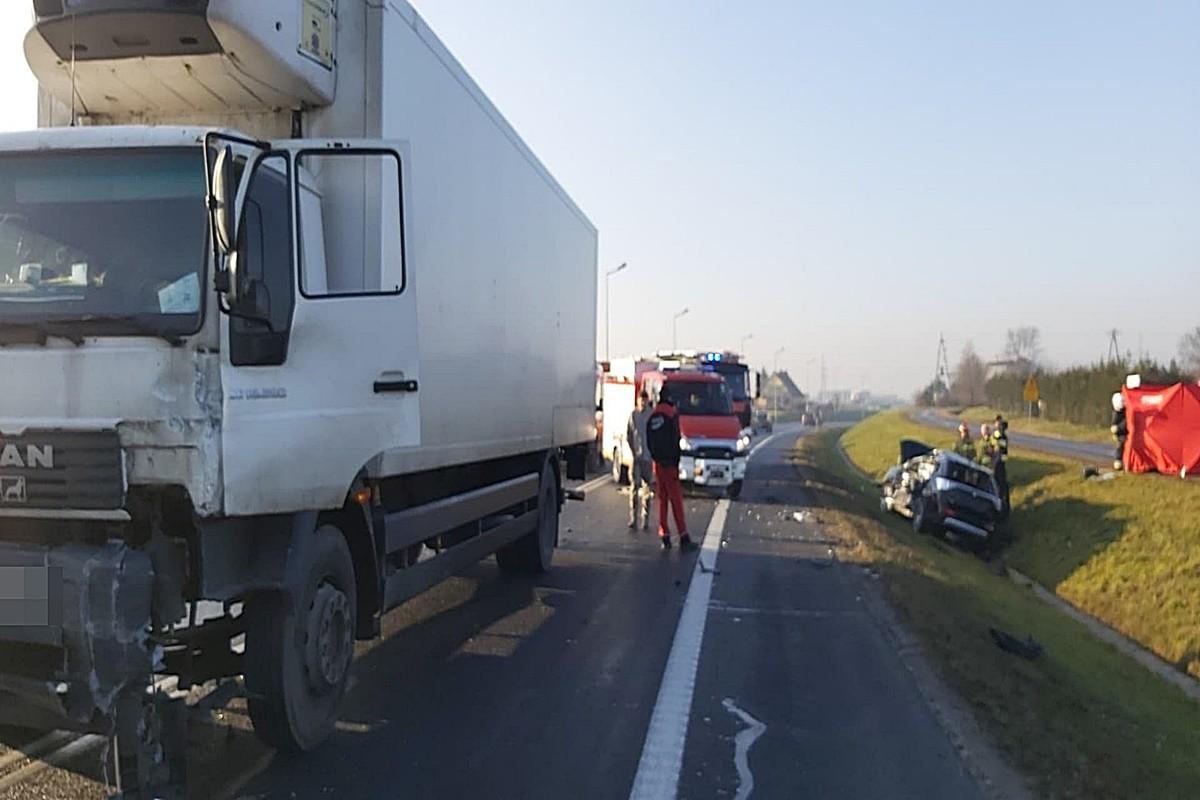 17-01-2020_ wypadek DK10 Nakło - ZK-1