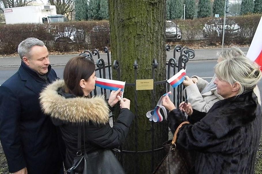 18-01-2020_ 100-lecie powrotu Bydgoszczy do Macierzy_ Dąb Wolności, al. Ossolińskich - BB, SF (1)
