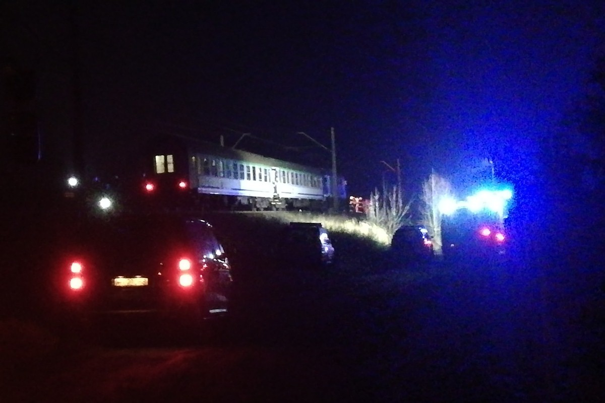 wypadek kolejowy dobrcz