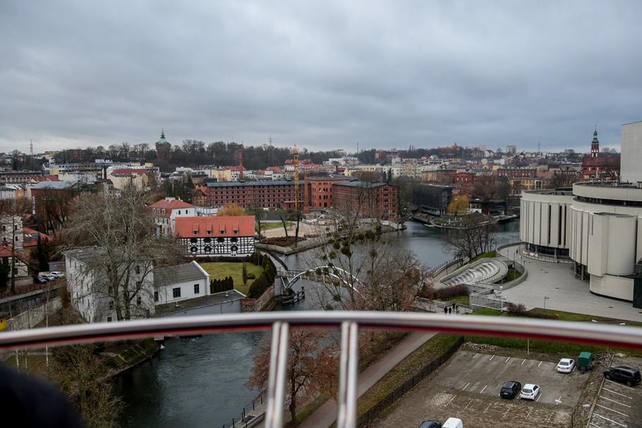 Bydgoszcz - widok z koła młyńskiego_ Młyny Rothera - SF