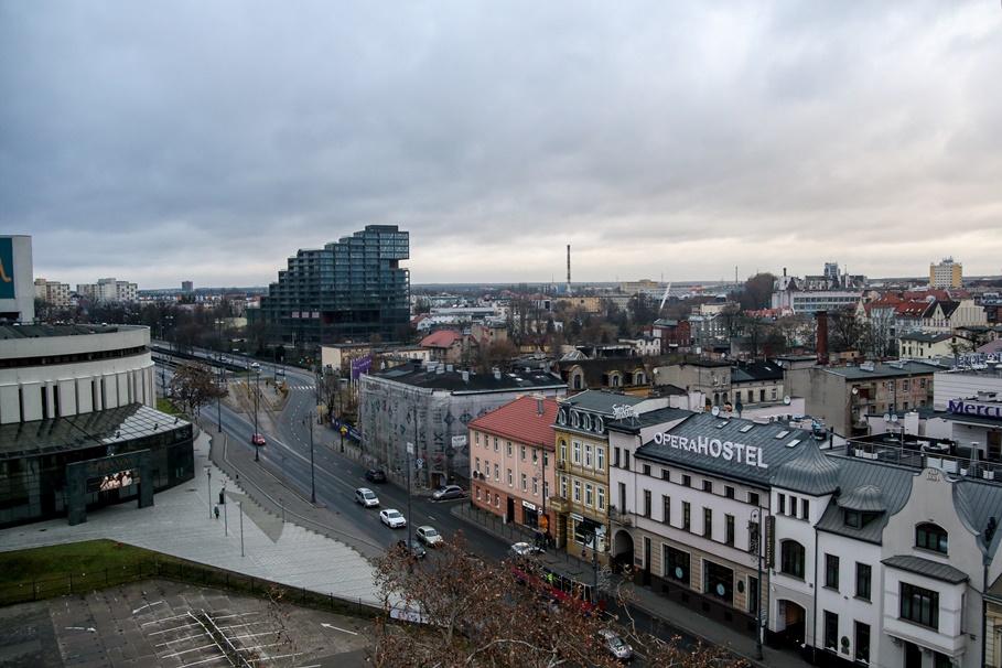 Bydgoszcz_ widok z koła młyńskiego_ Focha, Nordic Haven - SF