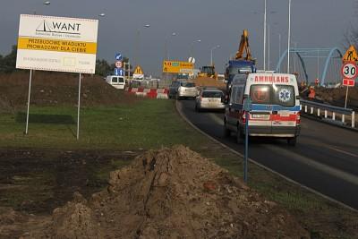Wyszyńskiego-Armii Krajowej-wiadukt-ruch-traffic-SF