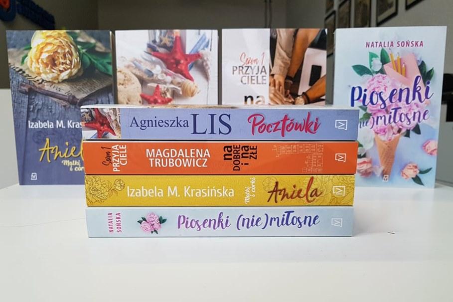 książki, konkurs - mk