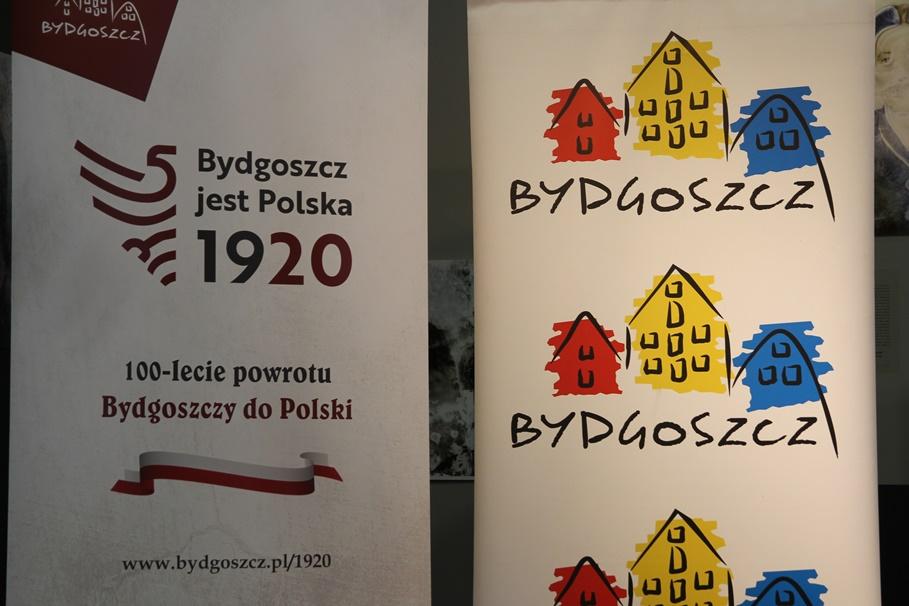 logotyp, szyld, banner - Bydgoszcz, Bydgoszcz Jest Polska 1920 - SF