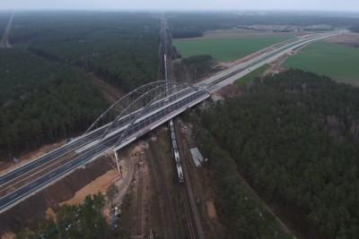 s5 wiadukt maksymilianowo odcinek bydgoszcz północ tryszczyn gmina osielsko3