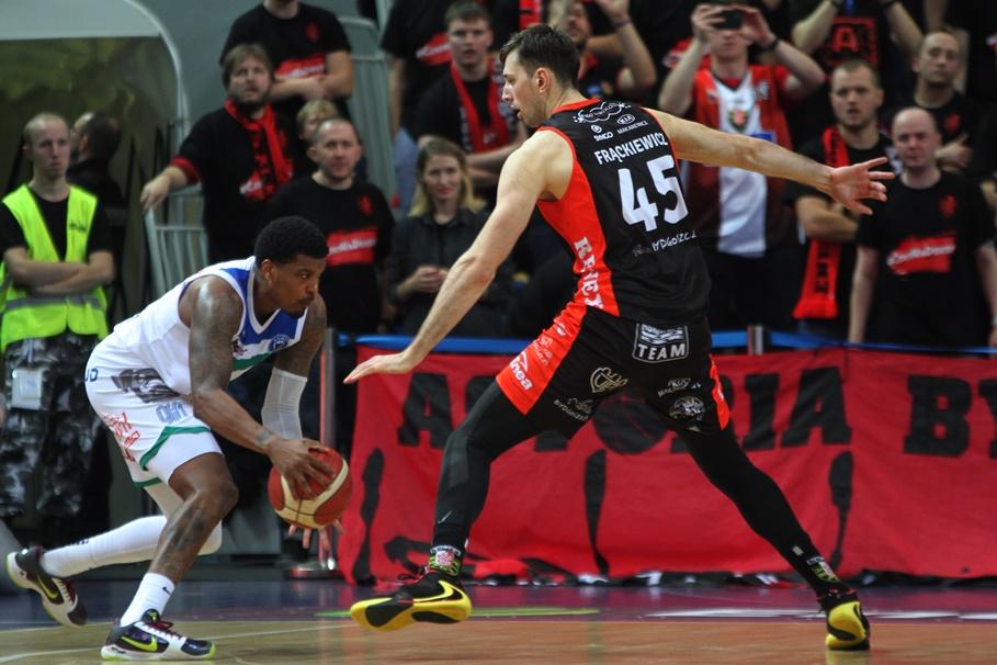 2-02-2020, koszykówka, Energa Basket Liga_ Anwil Włocławek - Enea Astoria Bydgoszcz - Ricky Ledo, Łukasz Frąckiewicz - SF