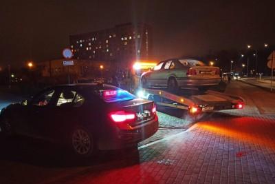 21-01-2020_ policja, kontrola, grupa SPEED - KMP Grudziądz